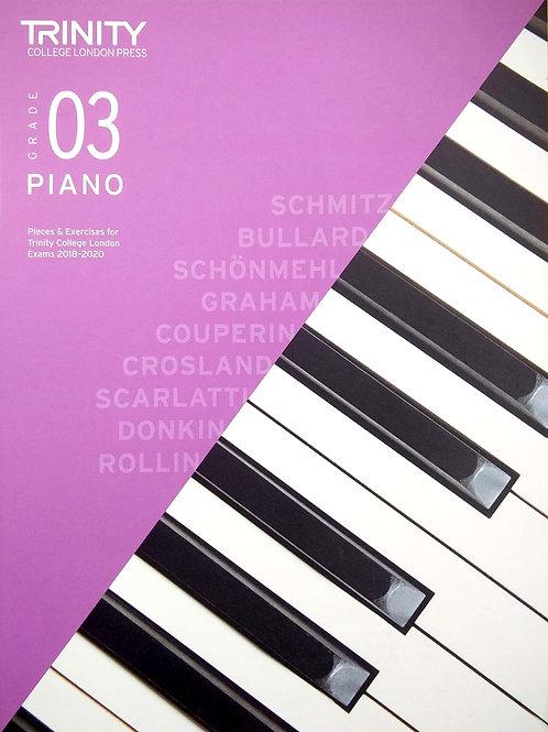 Piano - Grade 3 (Trinity)