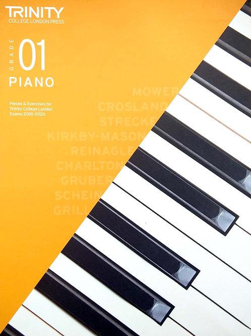 Piano Grade 1 - Trinity (2018-2020)