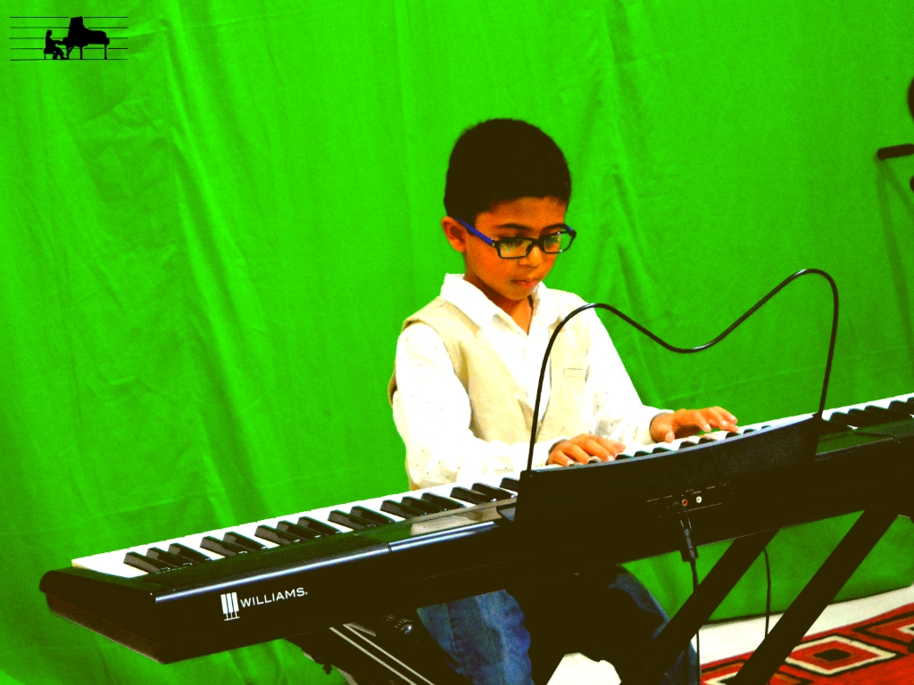 Yuvan, our youngest pianist performs fro