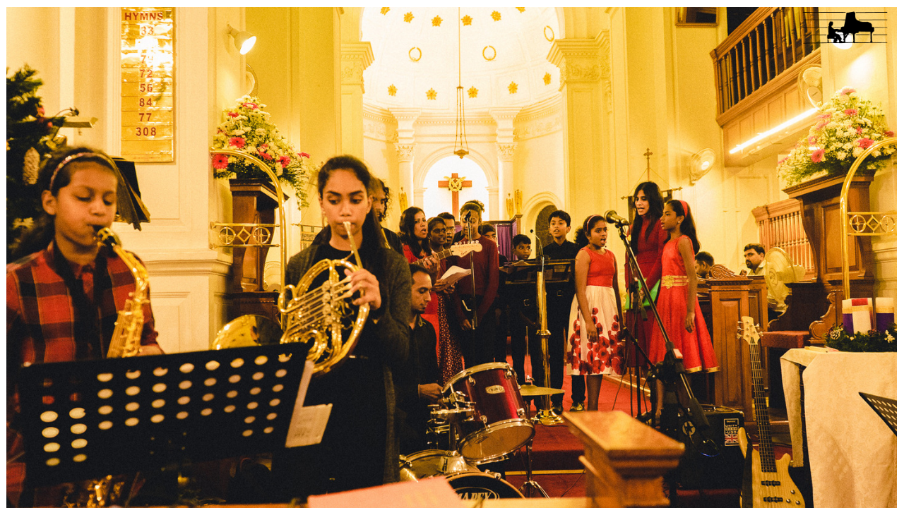 Carolling at St. Marks Cathedral