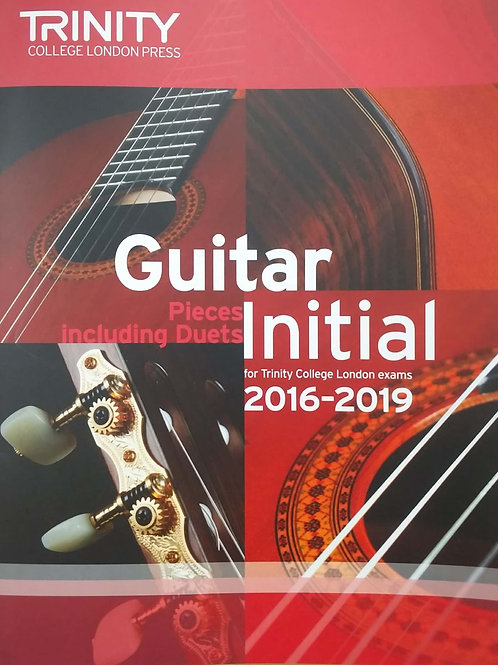 Guitar (Initial) Trinity 2016-2019