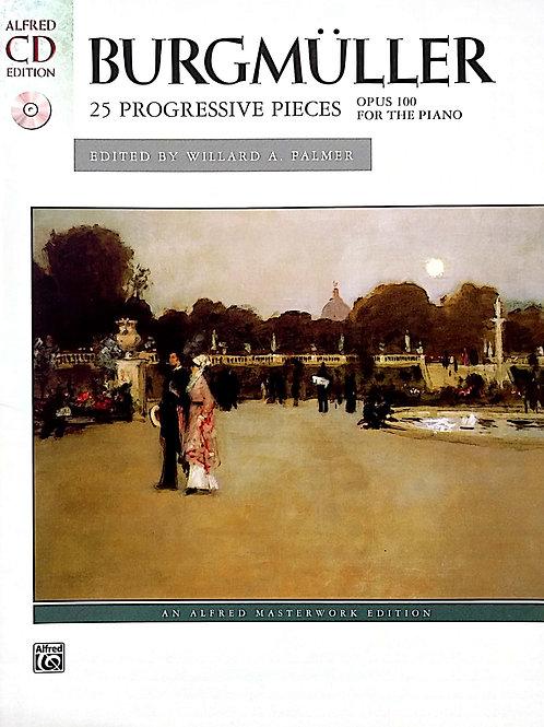 25 Progressive Pieces for Piano (Burgmuller)