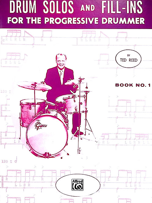 Drum Solos  and Fill-ins (Book 1) Ted Reed