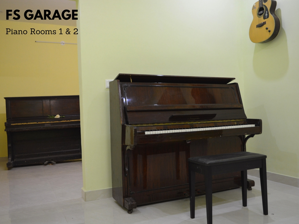 Piano Rooms 1 & 2