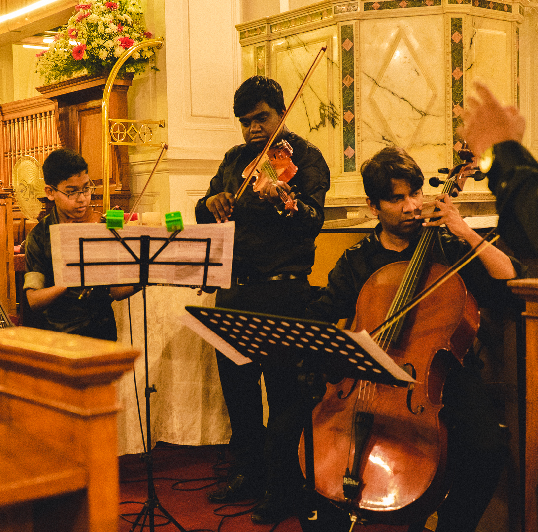 Carolling at St Marks Cathedral