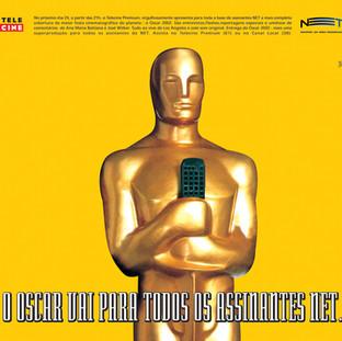 O Oscar vai para todos os assinantes NET.