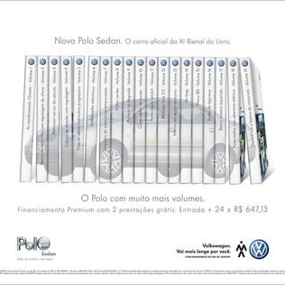 Novo polo Sedan. O Polo com mais volumes.