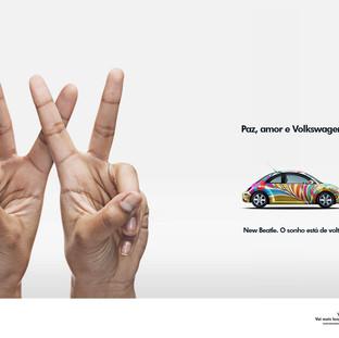 Paz, amor e Volkswagen