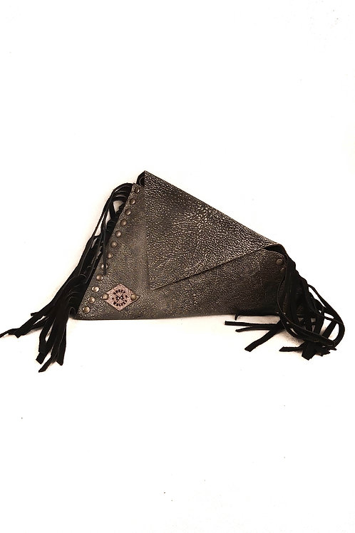 Handcrfted Fancy Leather Asymmetric Envelope