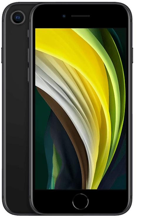 iPhone SE 2020 256 GB Schwarz