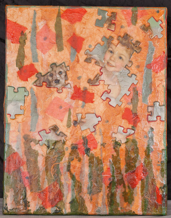 puzzlement: glancing
