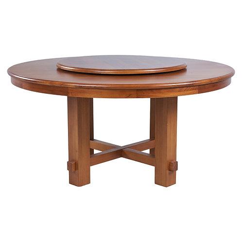 099圓餐桌 W150×D150×H75cm