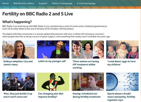 BBC Fertility Week