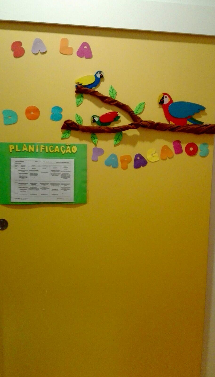 Sala dos papagaios - Sala de 1 ano