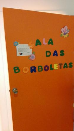 Sala das Borboletas - Sala dos 2 ano
