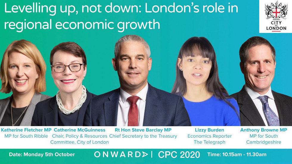 Conservative Party Conference: Levelling Up