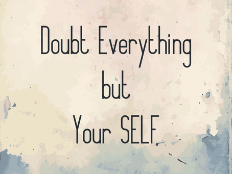 When inDoubt...
