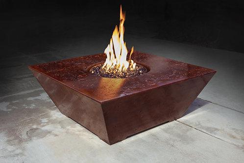 OBLIQUE SQUARE FIRE TABLE