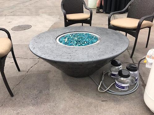 ROUND OBLIQUE FIRE TABLE