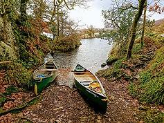 Canoes on Peel Island.JPG