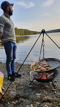 Cooking outside by the Lake.jpg