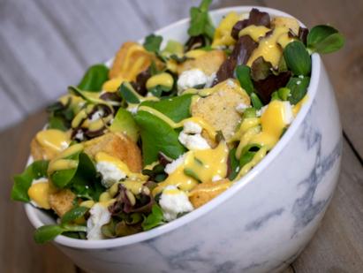 Unbe-leaf-ably Tasty Salad