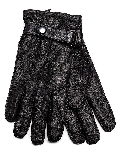 Handschoenen 100% Leer Zwart