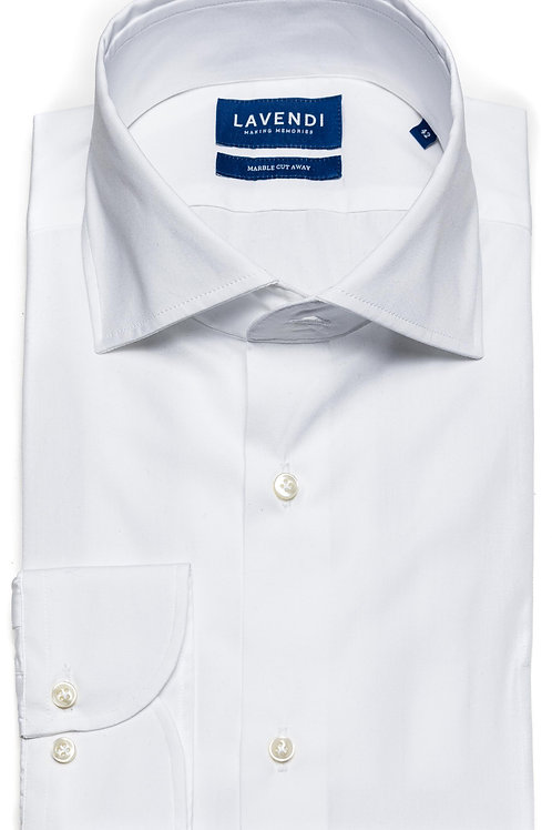 Shirt L/M Lavendi Wit