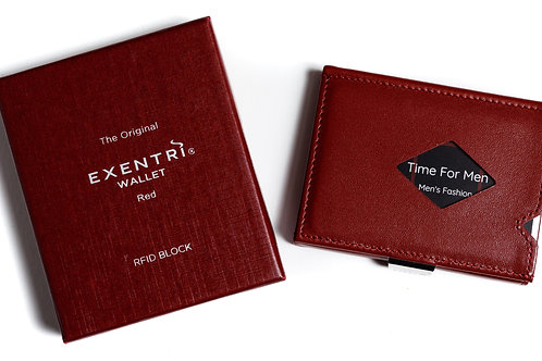 Wallet Exentri Rood