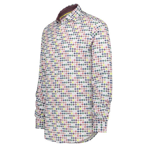 Printed Shirt Colornaments Off White
