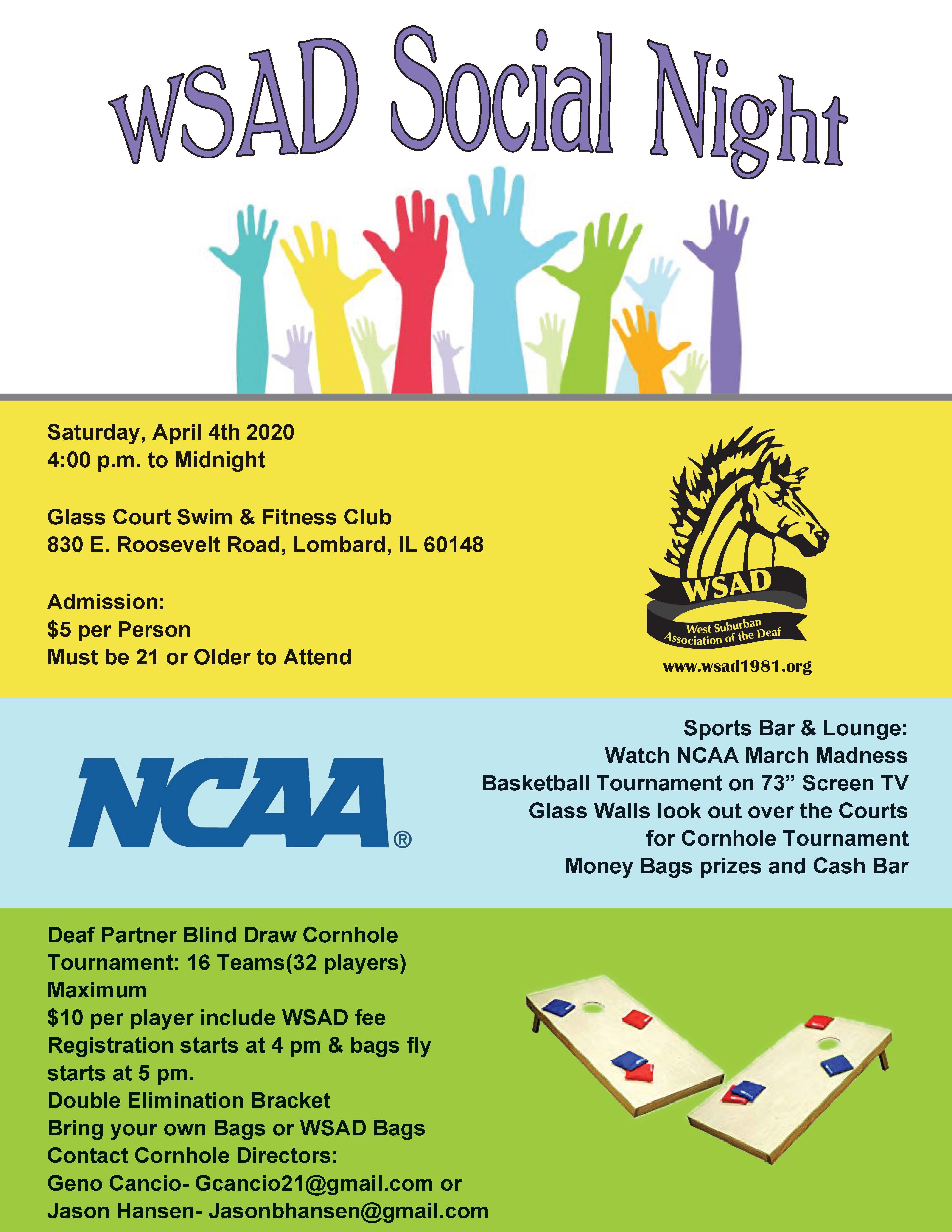 Social Night 4-4-20