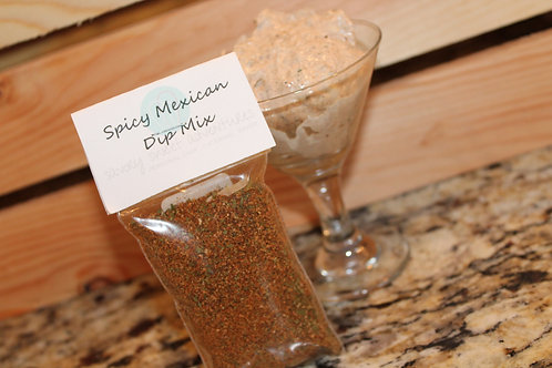 Spicy Mexican Dip Mix