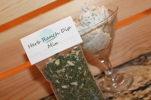 Herb Ranch Dip Mix