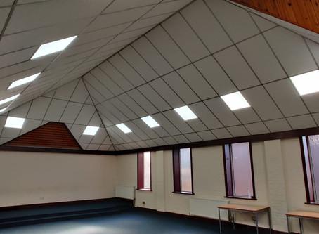 Centre refurbishments!
