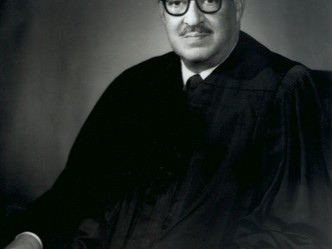 A Note of Black History - Thurgood Marshall