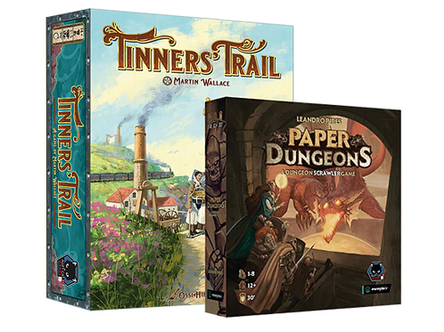 Tinners' Trail and Paper Dungeons Bundle