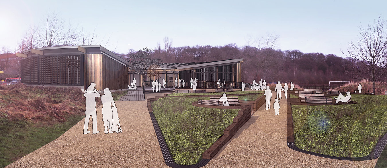land of oak and iron heritage centre design proposal architecture visualisation
