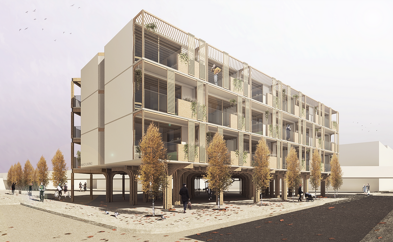 affordable housing student design - HD1350×830