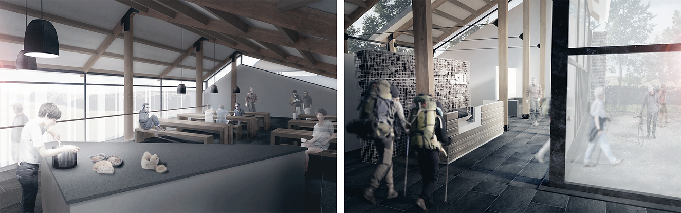 northumberland the sill visitor centre design proposal architecture visualisation