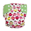 Foxy Mama Cloth Reusable Diaper Cover Pink and Green Bugs