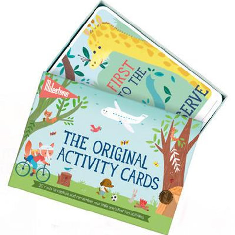 Milestone Toddler Activity Development Cards I Foxy Mama