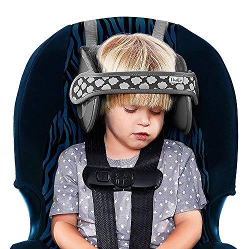 Napup Child Car Head Support Grey Charcoal I Foxy Mama