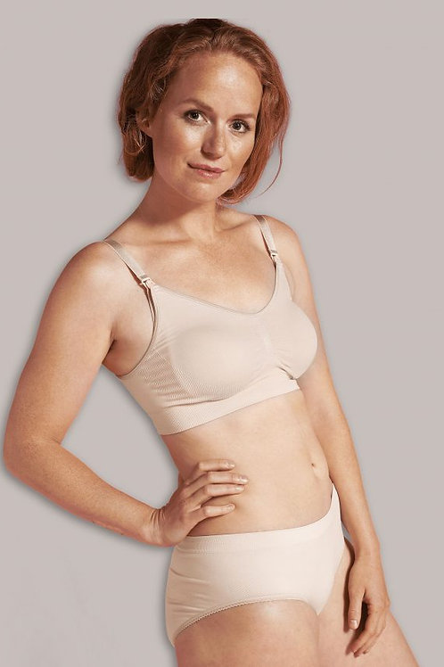 Adjustable Maternity & Nursing Bra - Honey I Nude I Natural - Foxy Mama