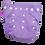Summer Cloth Non Disposable Reusable Diaper Nappy Purple I Foxy Mama