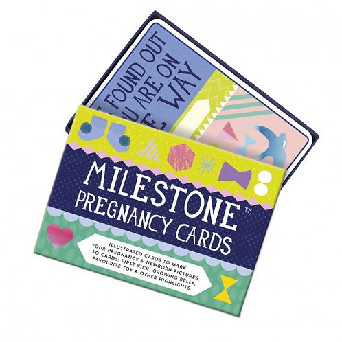 Milestone Pregnancy and Baby Milestone Development Cards I Foxy Mama