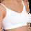 Carriwell Seamless Adjustable Nursing Bra White I Foxy Mama