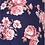 Summer 3/4 Sleeve Floral Print Nursing Friendly Shirt
