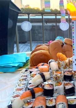 Sushis Cake