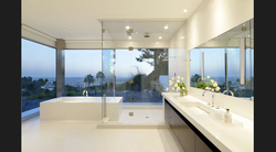 High End Glass Shower Enclosure