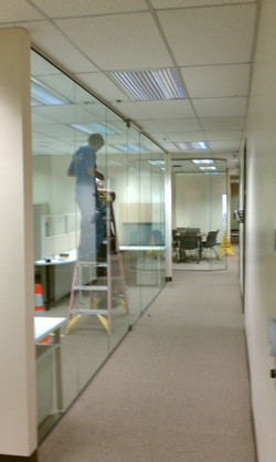 All Glass Tenant Improvements